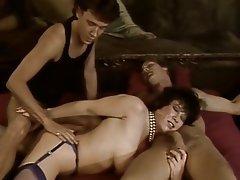 Anal Group Sex MILF Stockings