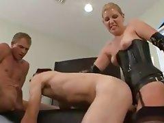 Anal Bisexual Blowjob Strapon