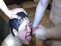 Amateur BBW Blowjob Facial