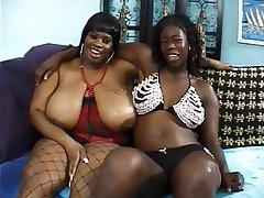 BBW Big Boobs Lesbian