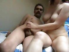 Amateur Big Boobs Handjob Masturbation