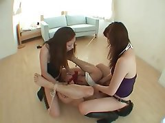 Asian Femdom Japanese Strapon