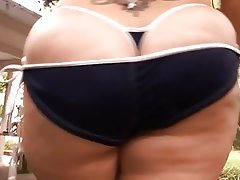 BBW Big Boobs Blowjob Interracial