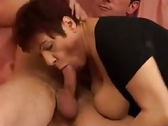Big Boobs Cumshot French Mature