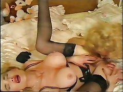 Big Boobs Blonde Lesbian Lingerie