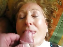 Amateur Facial Granny