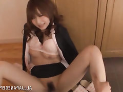 Asian Blowjob Cumshot MILF