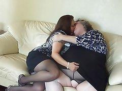 Amateur BBW Lesbian