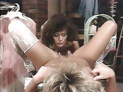 Lesbian Lingerie MILF Stockings