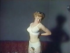 Blonde Softcore Stockings Vintage