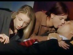 Blonde Blowjob Redhead Threesome