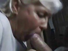 Blowjob Granny Masturbation