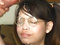 Asian Cumshot Facial Japanese Big Boobs