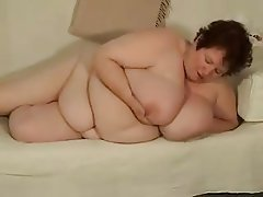 BBW Big Boobs Masturbation Mature