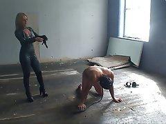 BDSM Blonde CFNM Femdom