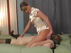 Ass Licking BDSM Lesbian Old and Young