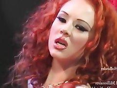 Anal Double Penetration Redhead Pornstar