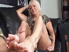 Foot Fetish Mature Old and Young