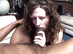 Blowjob Facial Interracial Brunette