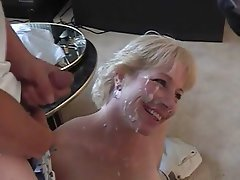Blowjob Bukkake Mature Facial Group Sex
