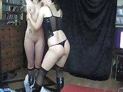 Amateur BDSM German Lesbian