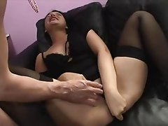 Anal Brunette French