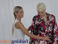 Babe Lesbian Massage