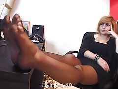 Stockings Femdom Foot Fetish Nylon