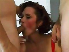 Anal Double Penetration MILF Pornstar