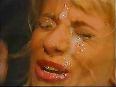 Anal Blonde Cumshot Facial