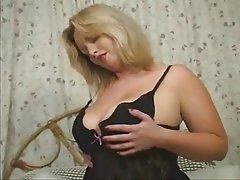 Big Boobs Blonde British Masturbation