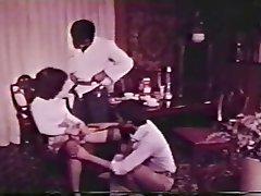 Interracial Threesome Vintage