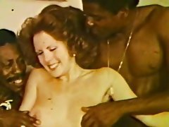 Interracial Threesome Vintage