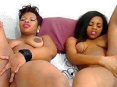 Lesbian Masturbation Webcam