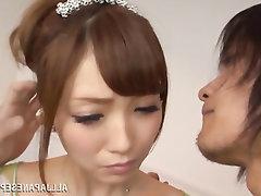 Asian Babe Blowjob Cumshot MILF