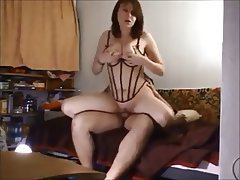 Amateur Big Boobs Brunette MILF Swinger
