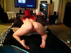 Amateur Anal Babe Close Up Redhead