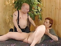 BBW Big Boobs Mature Midget Redhead