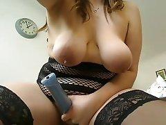 BBW Masturbation MILF Stockings