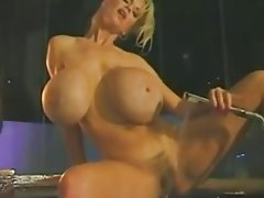 Big Boobs Blonde Masturbation Shower