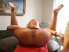 Anal BDSM Granny