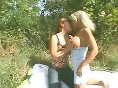 Blonde Brunette German Threesome