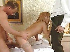 Anal Blonde Double Penetration Pornstar