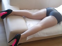 Amateur Anal Stockings Italian