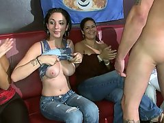 Amateur Blowjob Brunette Party