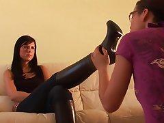 Stockings Foot Fetish Lesbian