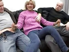 Blowjob Facial German Granny Old and Young