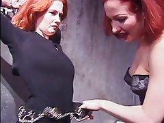 BDSM Lesbian Redhead MILF