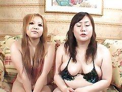 BBW Japanese Lesbian