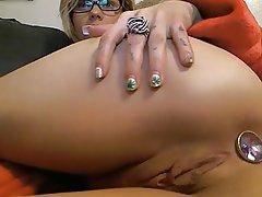 Anal Masturbation Small Tits
